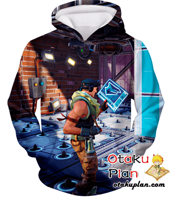 8920aa5edfce Fortnite Battle Royale Constructor Hoodie - Fortnite 3D Hoodies And Clothing   merchandise  animelover  comic  stuff  animeboy  anime  animeart