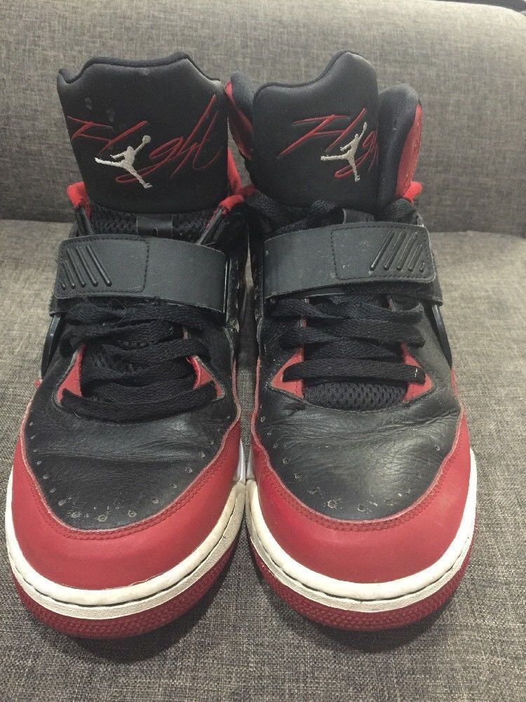 Men s Basketball Sneakers AIR JORDAN FLIGHT 97 red black Size 11 654265-002   shoes 95a3ed56a