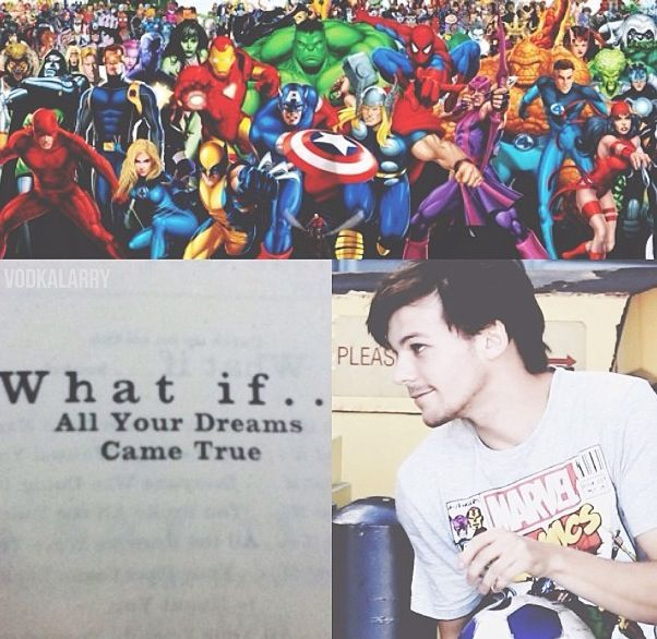 Louis tomlinson superhero