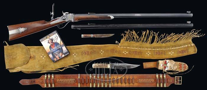 """TOM SELLECK'S SHILOH SHARPS RIFLE FROM THE MOVIE """"QUIGLEY"""
