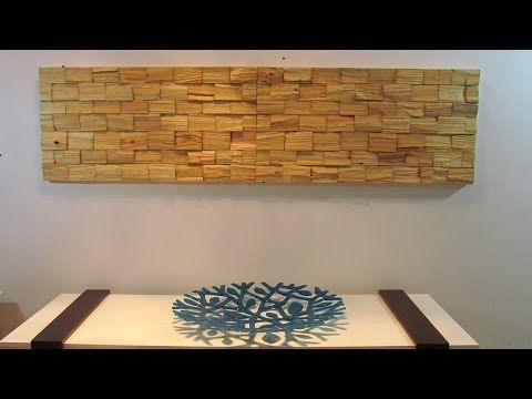 ▶ Painel com toquinhos de paletes - YouTube
