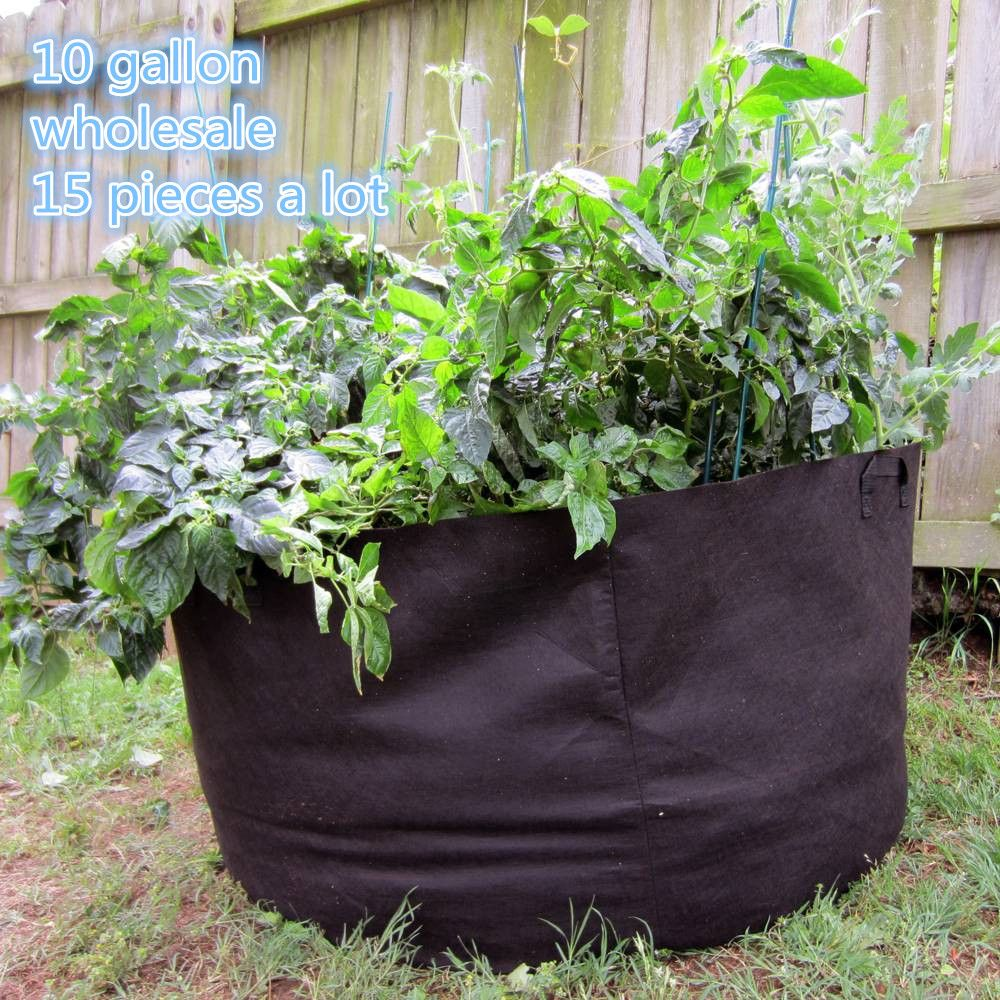 Charming Wholesale 15pieces Garden Supplies Planting Bag Home Gardening Vegetable  Grow Bags Trees Flower Pots U0026 Planters