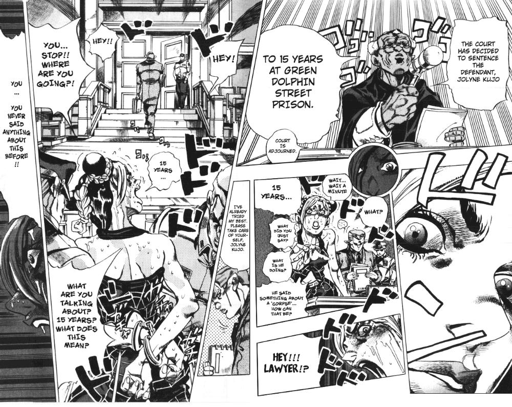 Jojo S Bizarre Adventure Part 6 Stone Ocean Vol 1 Ch 2 Stone Ocean Part 2 Mangadex In 2020 Jojo S Bizarre Adventure Jojo Bizarre Bizarre