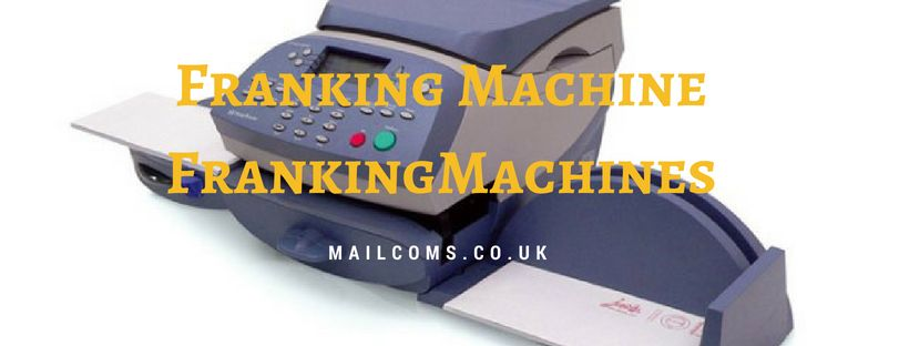A Franking Machine Is A Mechanical Device That Used To Create And