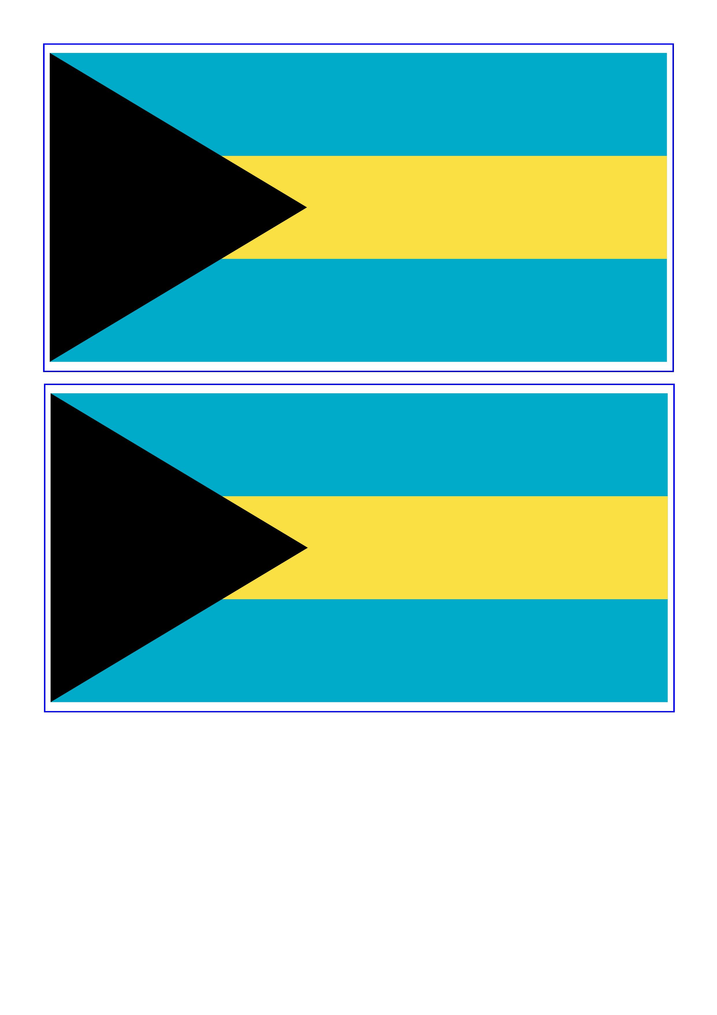 Bahamas Flag Free Printable Bahamas Flag Flag Template Flag Printable Bahamas Flag