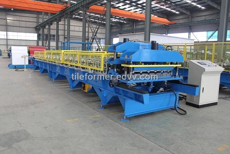 Wall Roofing Corrugated Cold Forming Machine China Roof Cladding Sheet Forming Machine Tile Roof Sheet Machine Roof Cladding Roofing Cladding Sheets