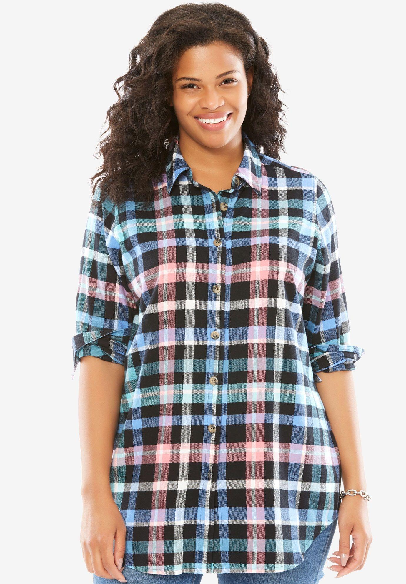 6a8242a936f Classic flannel bigshirt