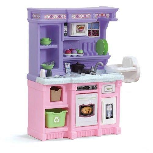 Kids Pretend Kitchen Bakers Play Girls 30 Pc Cooking Set ...