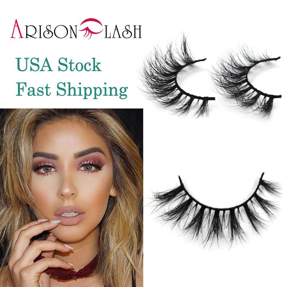 3d Mink Eyelashes False Lash Strip Arison Lash Lilly Us Stock