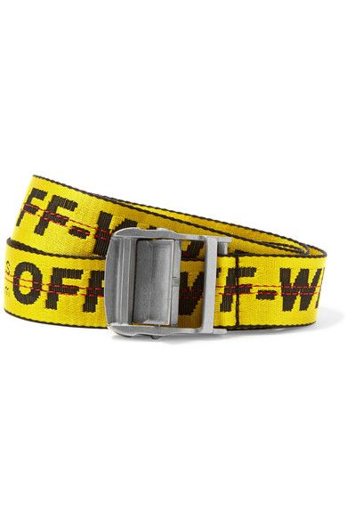 eaed65bb1a0490 OFF-WHITE . #off-white #belts | Off-White | White industrial, Off ...