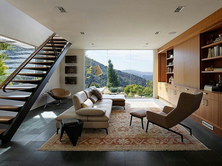 Moderne häuser innen wohnzimmer  Pin von Ava💜jun auf Decor | Pinterest