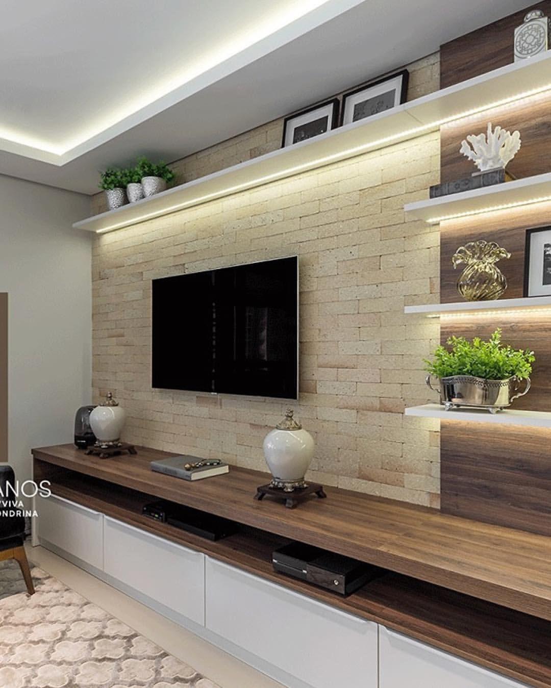 Dekoration Für Das Design Auf Instagram Mit Einem Tv Raum Wi Modern Contemporary Living Room Contemporary Modern Living Room Design Living Room Design Modern
