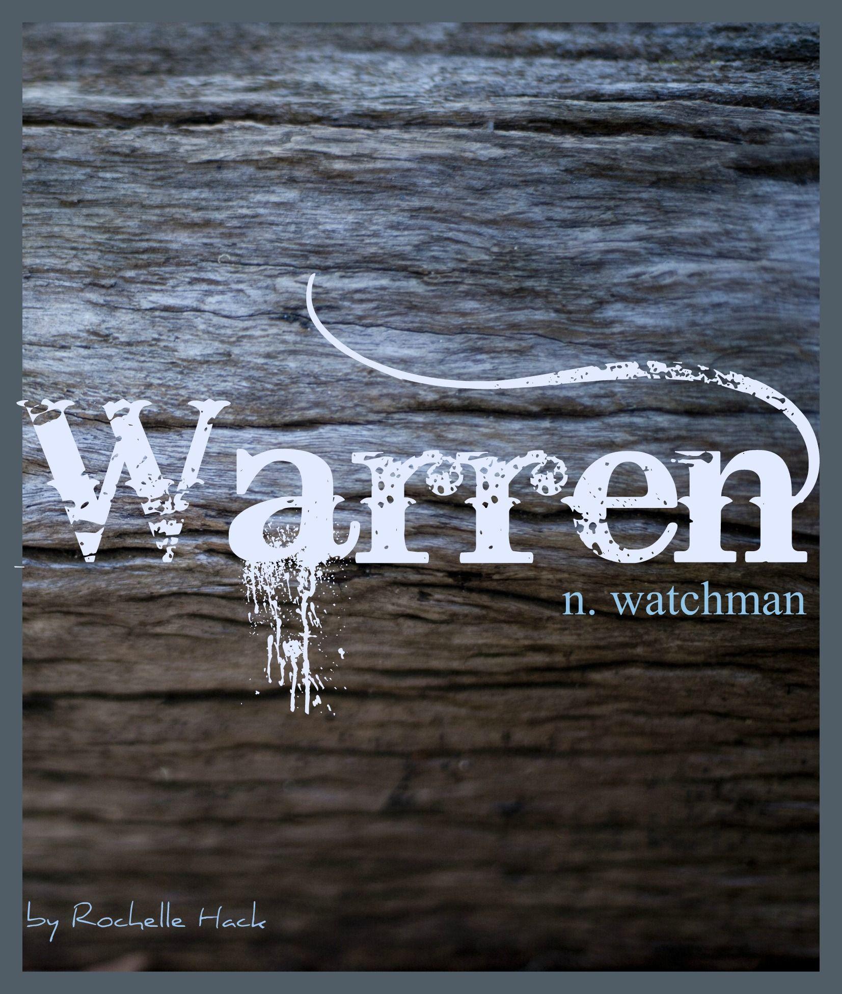 Baby Boy or Girl Name: Warren. Meaning: Watchman. Origin: English; German. https://www.pinterest.com/vintagedaydream/baby-names/