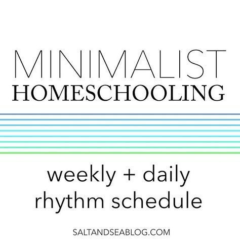 Photo of Simplifying Our Homeschool Schedule – Minimalist Homeschooling – Intentional Homeschooling
