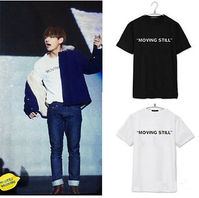 c2acf75ac Kpop bts V Taehyung shirt | Kpop things | Bts clothing, Bts shirt ...
