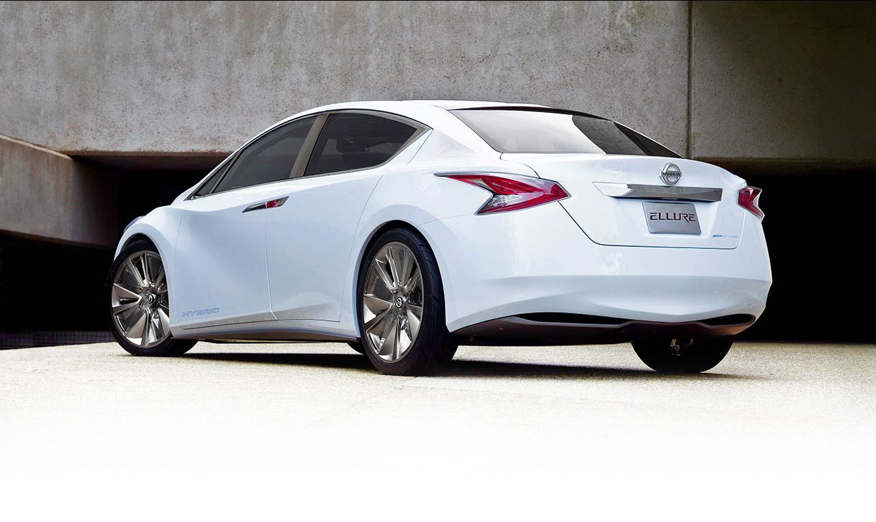 Discover The Nissan Ellure Hybrid Nissan Maxima Nissan Coupe Nissan Altima