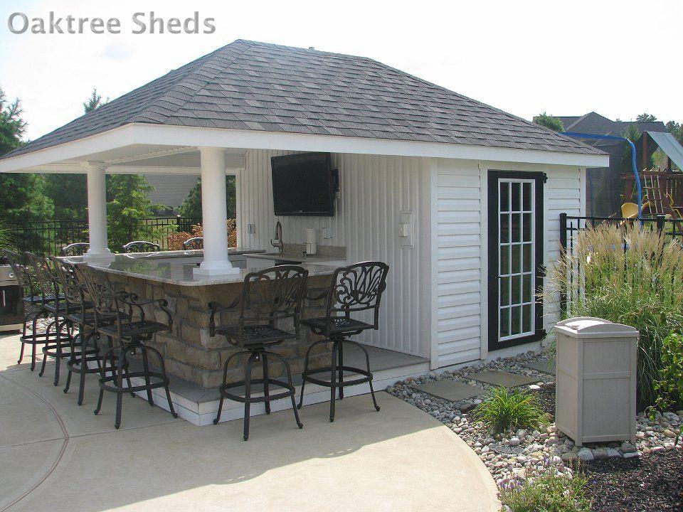 Backyard Sheds And Gazebos