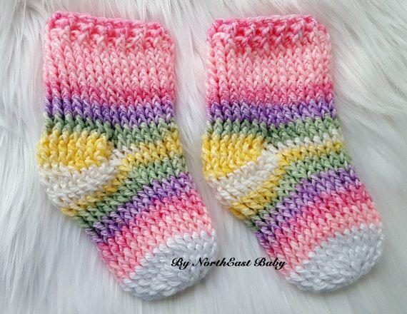Simple Crochet Sock Pattern By Northeastbaby On Etsy Crochet
