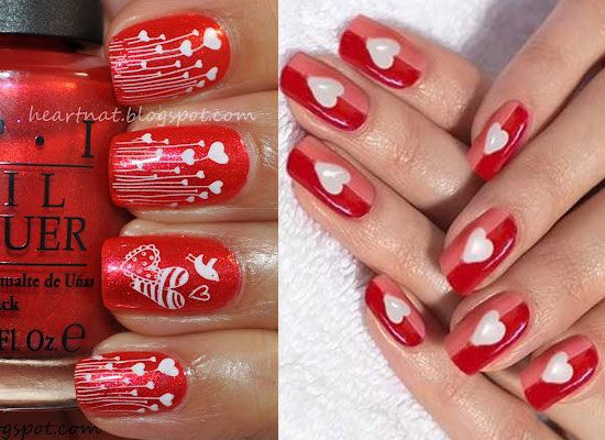 10-Best-Simple-Easy-Valentines-Day-Nail-Art- - 10-Best-Simple-Easy-Valentines-Day-Nail-Art-Designs-2013-For-Girls-9