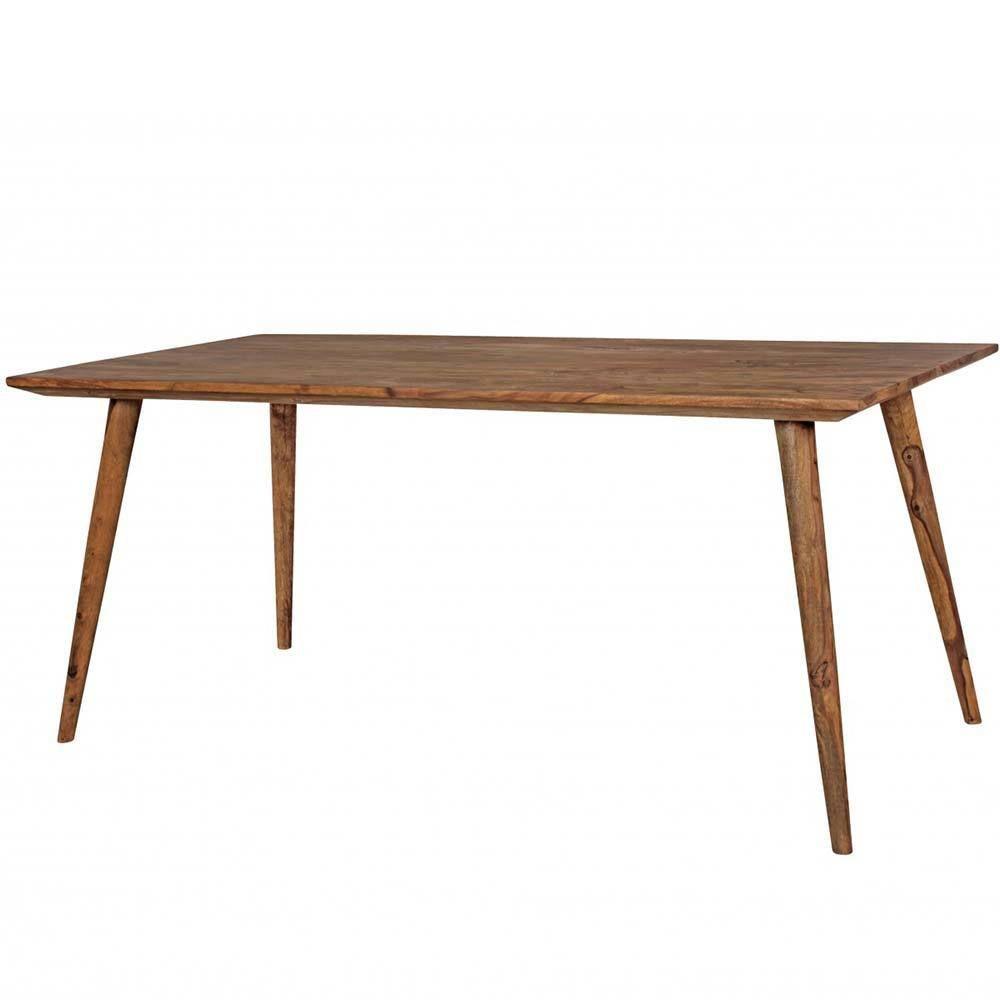 Esszimmertisch aus Sheesham Massivholz Retro Design Jetzt bestellen ...