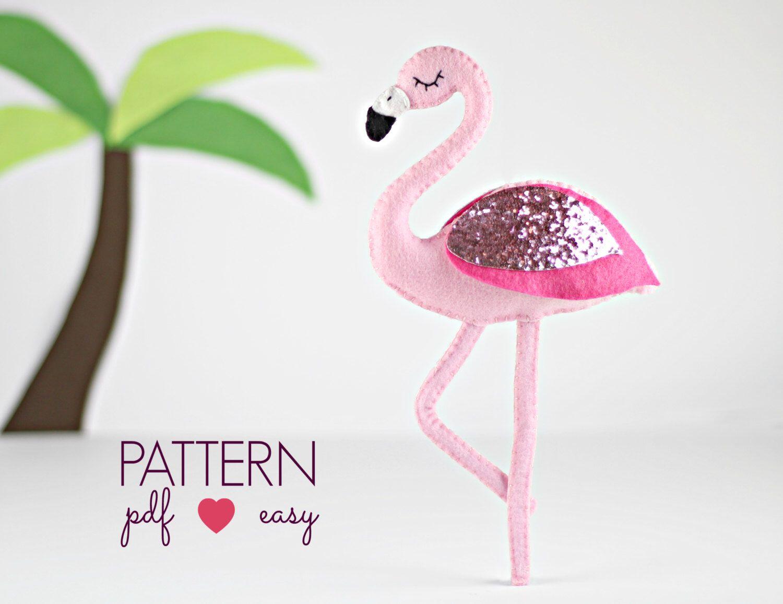 Baby flamingo car interior design - Flamingo Sewing Pattern Felt Sewing Pattern Felt Flamingo Baby Mobile Pattern Cake
