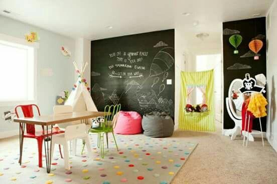 Cuarto de juegos niños | cuarto de niños | Pinterest | Kids rooms ...