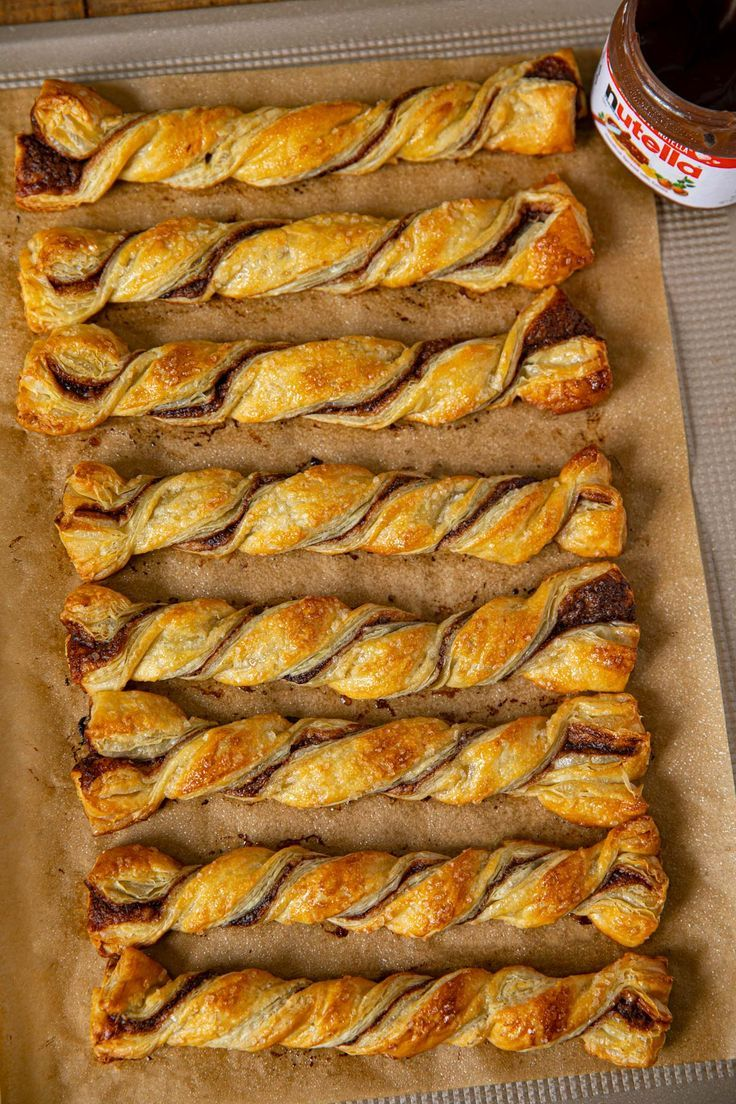 Nutella Pastry Twists are a fun pastry, perfect for ...