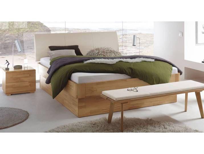 Photo of Helt treboks med helt bøk med sengekasse 100×220 cm – Ballina – BET