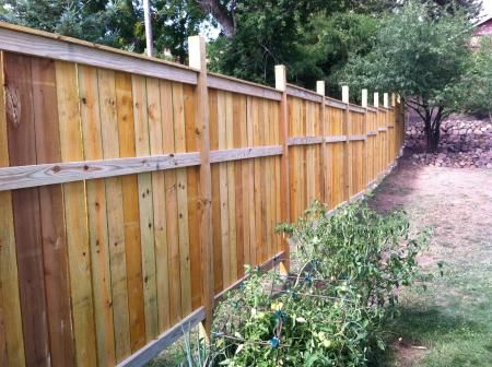 Cedar Fence Do It Yourself Home Projects From Ana White Cedar