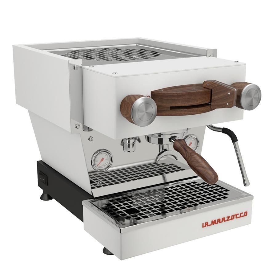 La Marzocco Linea Mini Wood Customization Kit La Marzocco Mini Stainless Steel Panels