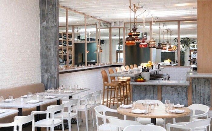 Salt Air A Whitewashed Restaurant In Venice Beach Remodelista Restaurant Interior Restaurant Salt Air