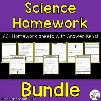 Science homework help and answers