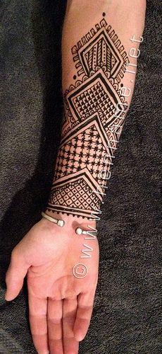 Henna Tattoos For Men: Henna/Jauga Inspiration- Men & Misc.