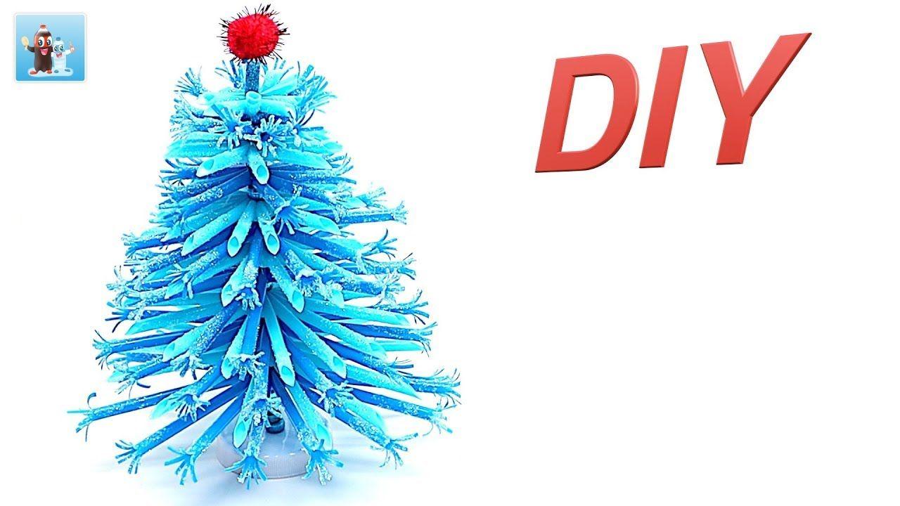 Drinking Straw Diy Christmas Tree Art And Craft Ideas Handicraft Diy Christmas Tree Christmas Tree Art Diy Straw