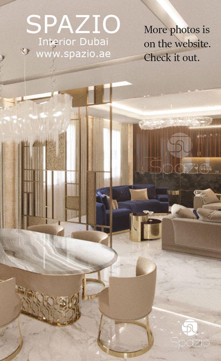 luxury dining room interior design for dream homes in Dubai | Luxury ...