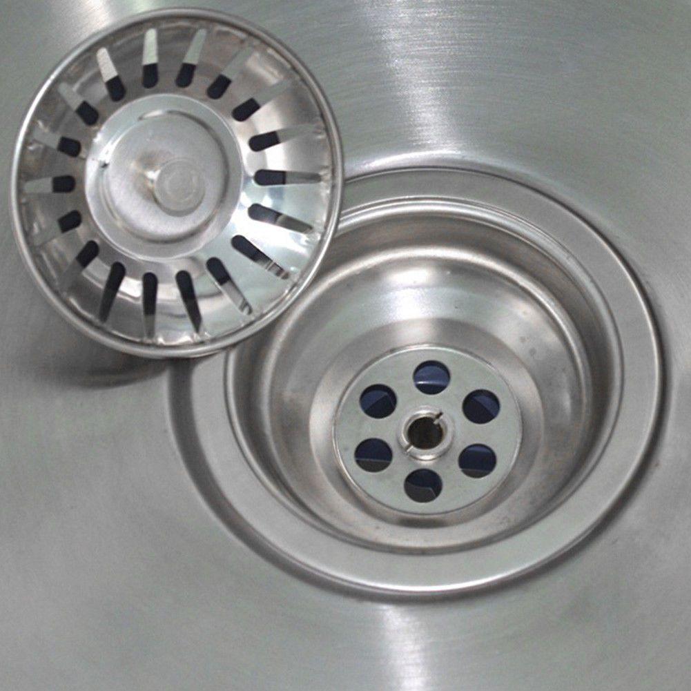 Stainless Steel Kitchen Sink Strainer Waste Plug