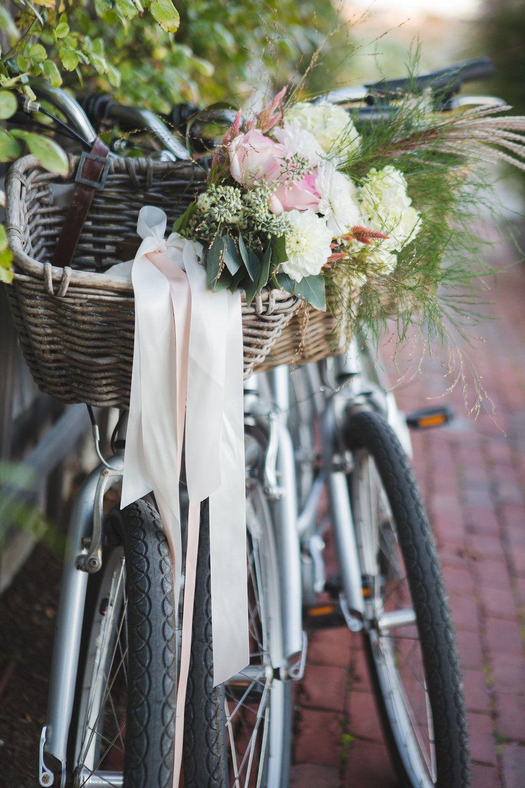 Wedding getaway bike Nantucket wedding, Nantucket