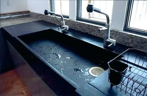 Extra Large Kitchen Sink Knowing The Pros And Cons Soapstone Sinks Before Installing In Your Underm Large Kitchen Sinks Modern Kitchen Sinks Stone Sink Kitchen