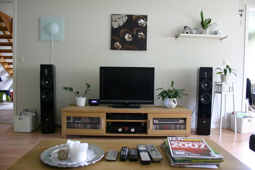 Entertainment System  Cool Entertainment Room Decor  Pinterest Magnificent House Designs Living Room Review