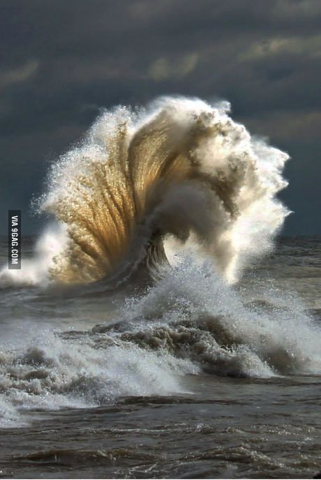 When waves collide