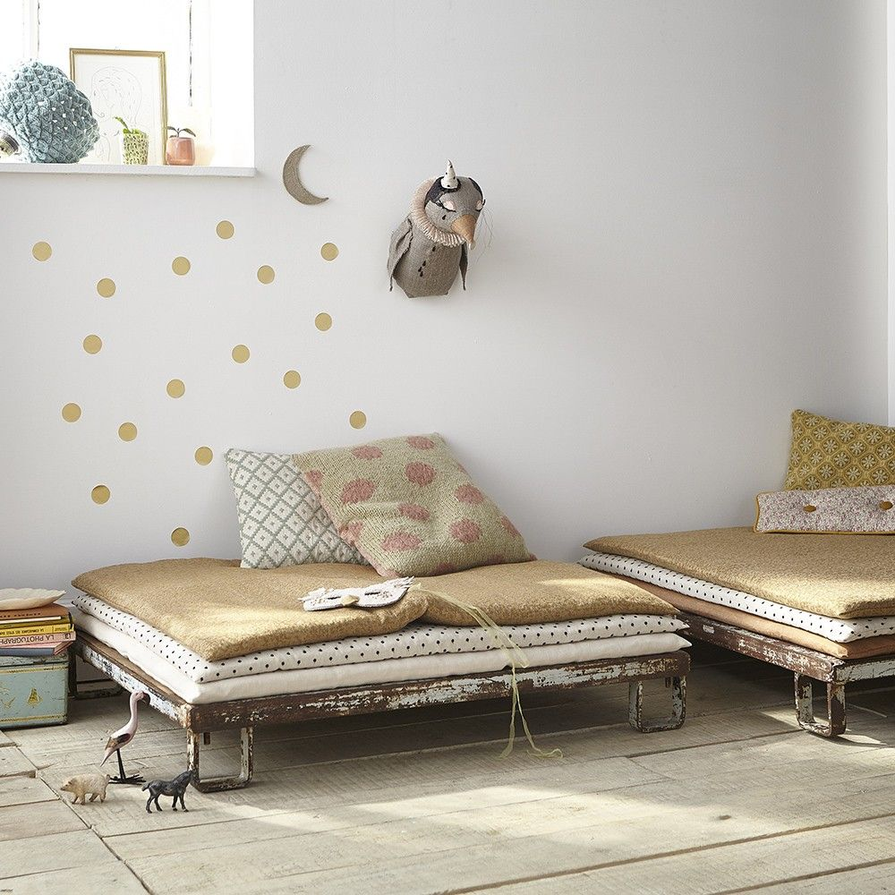sofa boh me bohemian canap enfant vintage d saccord kids room pinterest kinderzimmer. Black Bedroom Furniture Sets. Home Design Ideas