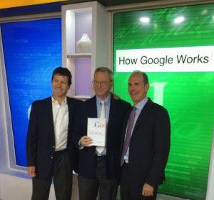 Présentation du livre How Google Works.