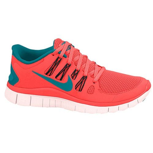a34ed45e3cdb Nike Free 5.0+ - Women s - Running - Shoes - Distance Blue Anthracite Blue  Tint Flash Lime