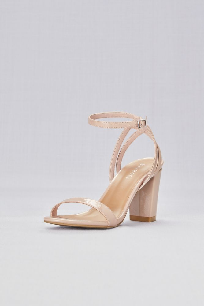 359178abe4180 Patent Sandals with Strappy Back Style STRIKING04S, Nude, 10 in 2019 ...