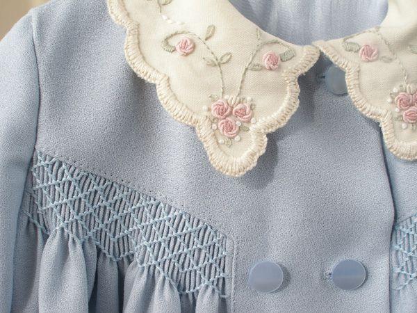 Bella's Easter coat front by Tia Dia, via Flickr