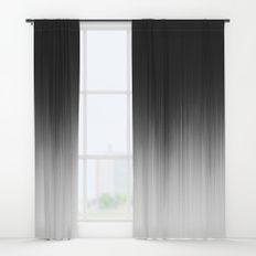 Occult Window Curtains Black And Grey