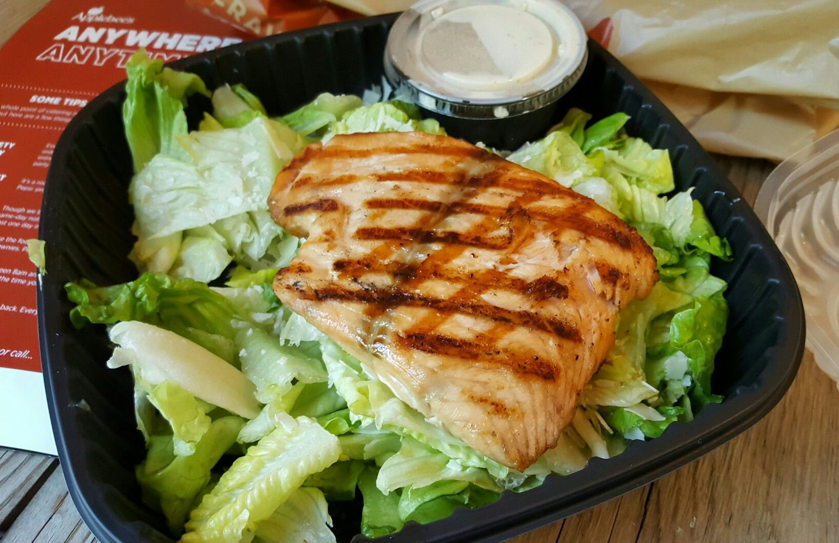 Delicious low carb takeout for dinner from Applebee's