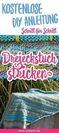 Photo of ▷ Instructions: Knit asymmetrical triangular scarf   sockshype.com