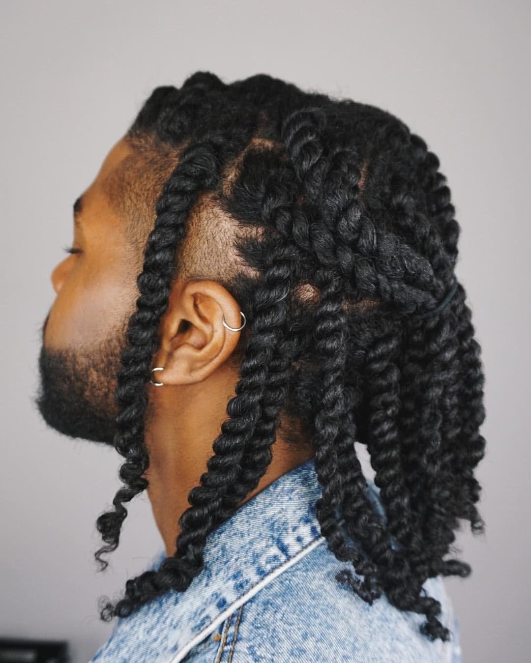 Pin By J V On M I S C Mens Braids Hairstyles Hair Twist Styles