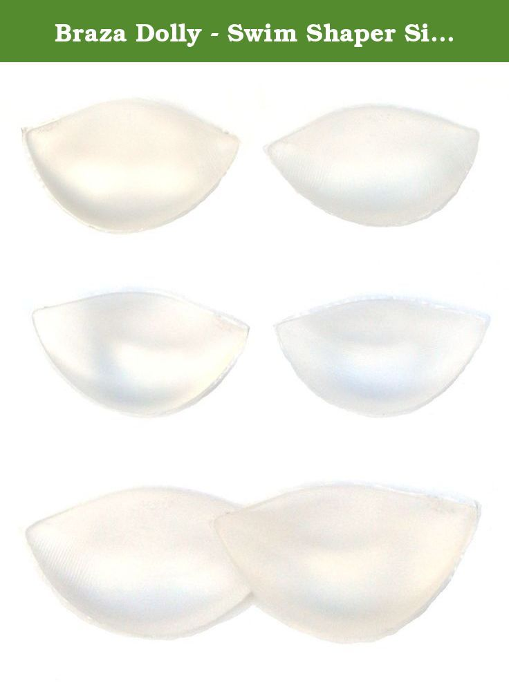 b7f41218fdf20 Braza Dolly - Swim Shaper Silicone Breast Enhancement Pad 7350S. The Braza  Swim Shaper Dolly in the Swim Shaper reusable package can be positioned  several ...